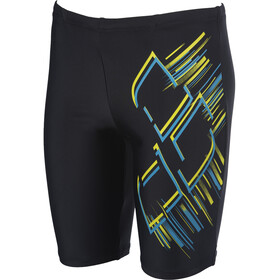 arena Shimmery Jammer Niños, black/turquoise